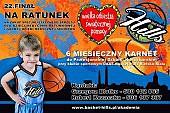 DAAS Basket Hills Bielsko-Biała wspiera 22 finał Wielkiej Orkiestry Świątecznej Pomocy