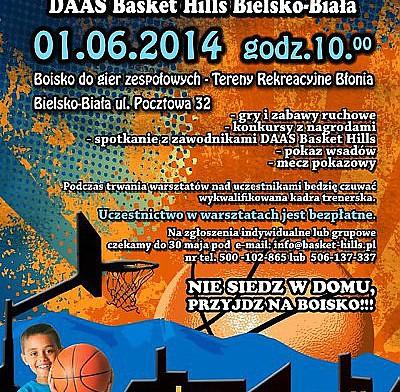 Koszykarski Dzień Dziecka z DAAS Basket Hills Bielsko-Biała.