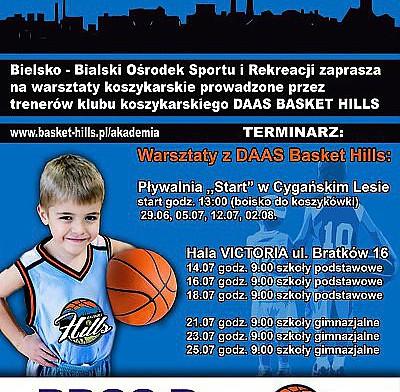 Wakacje z DAAS Basket Hills Bielsko-Biała!