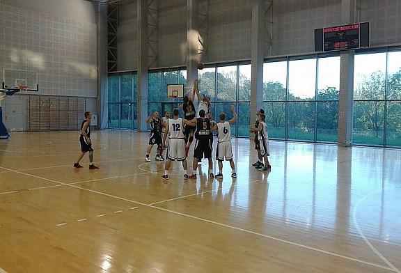 Mecz sparingowy w Bytomiu. Polonia Bytom - DAAS Basket Hills B-B 74:46