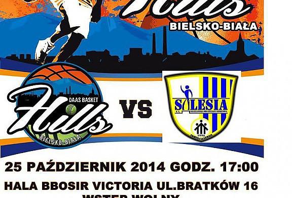 W sobotę o godzinie 17.00 koszykarze DAAS Basket Hills rozegrają pierwsze spotkanie przed własną publicznością.
