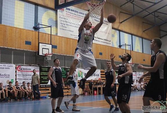 Udany debiut w pierwszym meczu przed własną publicznością.  DAAS Basket Hills Bielsko-Biała - SALESIA Świętochłowice 126:54