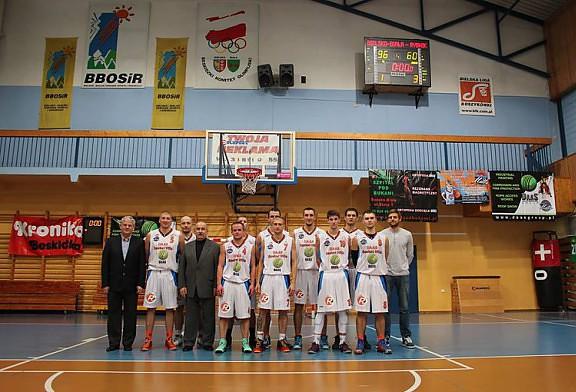 DAAS Basket Hills Bielsko-Biała - MKKS Rybnik 96:60