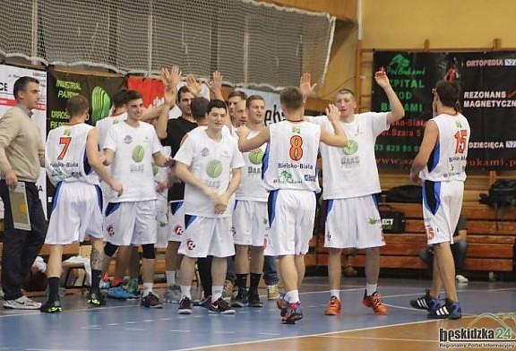 Wygrana z AZS Gliwice!  DAAS Basket Hills Bielsko-Biała - KŚ AZS PŚ Gliwice 86:54