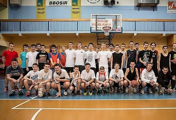Warsztaty koszykarskie - Zima w Mieście