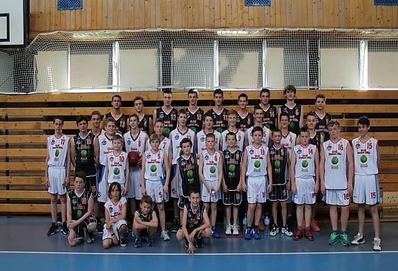 Sparingi młodych koszykarzy