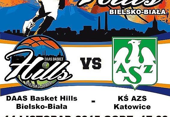 Zapraszamy na mecz z AZS Katowice!