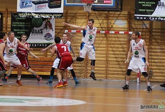 Drużynowe zwycięstwo DAAS Basket Hills nad rezerwami GTK Gliwice.