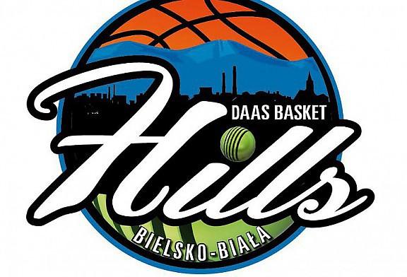Nowe logo DAAS Basket Hills Bielsko-Biała