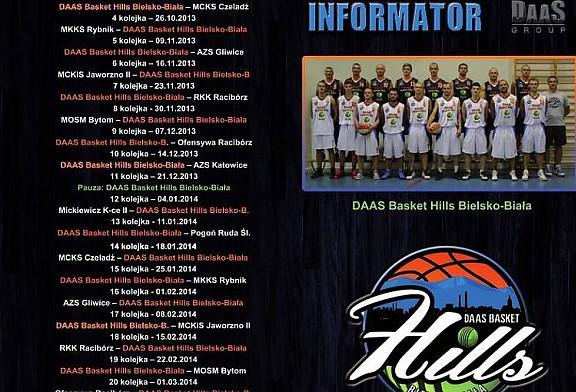 Informator drużyny DAAS Basket Hills Bielsko-Biała