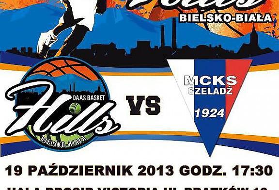 DAAS Basket Hills Bielsko-Biała będą podejmować na własnym boisku drużynę MCKS Czeladź!