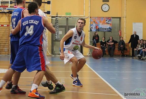 DAAS Basket Hills Bielsko-Biała wygrali z drużyną MCKS Czeladź 62:45