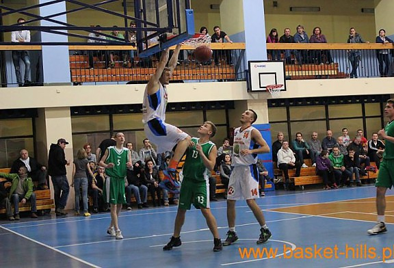 DAAS Basket Hills Bielsko-Biała : AZS PŚ Gliwice 95:65