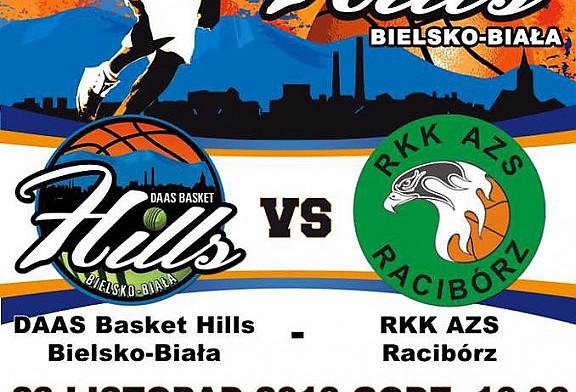 W sobotę 23.11.2013 o godzinie 16.00 naszych koszykarzy czeka starcie z rywalem z Raciborza.