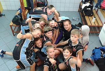 Koszykarze z roczników 2004 i 2005 zainaugurowali sezon w Cieszynie.